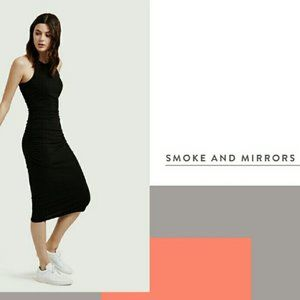 Kit and Ace Smoke and Mirrors dress NWT
